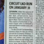 Circuit Lucknow Run on 31st img